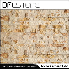 China Professional Supplier for Splitface Stone,Stone Cladding,Stacked Stone Manufacturer in China Cheap Natural Marble Cultured Stone Paneling System supply to Spain Manufacturers